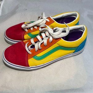 Van's Old Skool Colorblock Sneakers - Sz 6 Juniors